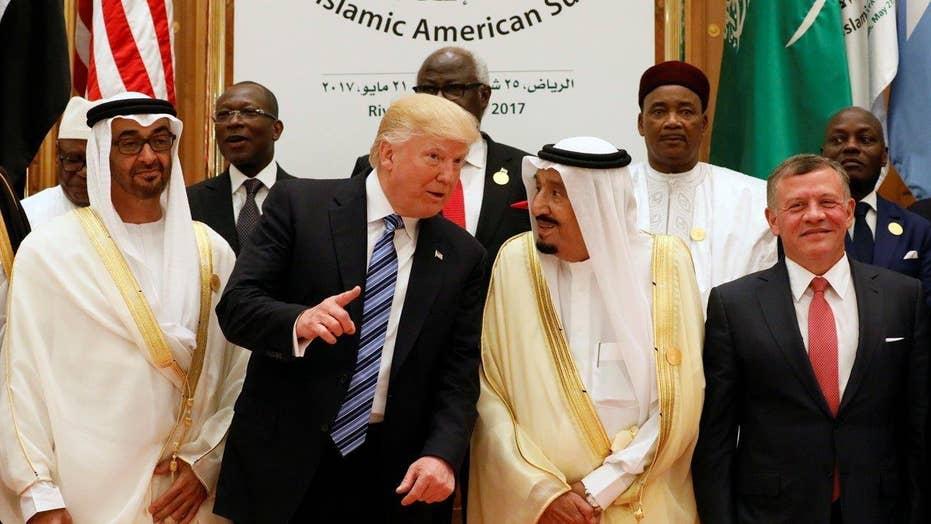 Trump announces effort to prevent financing of terrorism