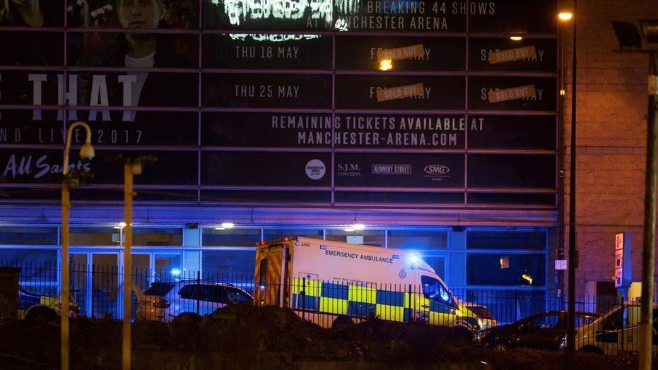 Authorities shift focus to foyer of Manchester Arena