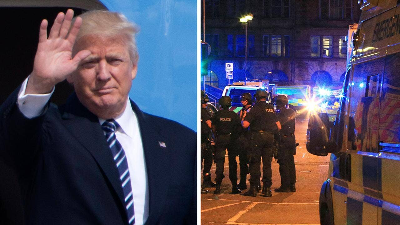 The mainstream media are so hyperfocused on bringing Pres. Trump down with alleged Russia collusion story that it didn't treat the aftermath of the Manchester attack as important as they should. Are the media not derelict in their duties? #Tucker