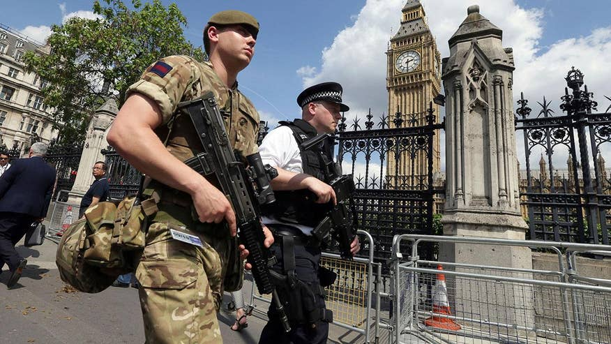In the wake of the terror attack in Manchester, the British military was deployed to replace armed police guarding key sites after the terror level in the U.K. was elevated to its highest level