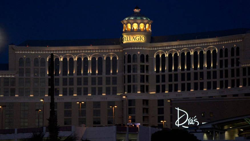 Propaganda video shows image of the Bellagio hotel; Trace Gallagher reports from Los Angeles