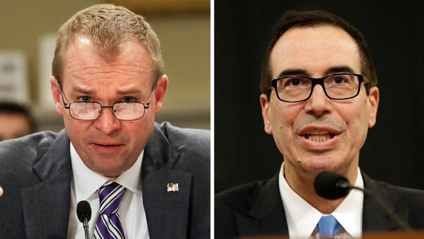 Mulvaney, Mnuchin testify on Capitol Hill; chief congressional correspondent Mike Emanuel reports from Capitol Hill