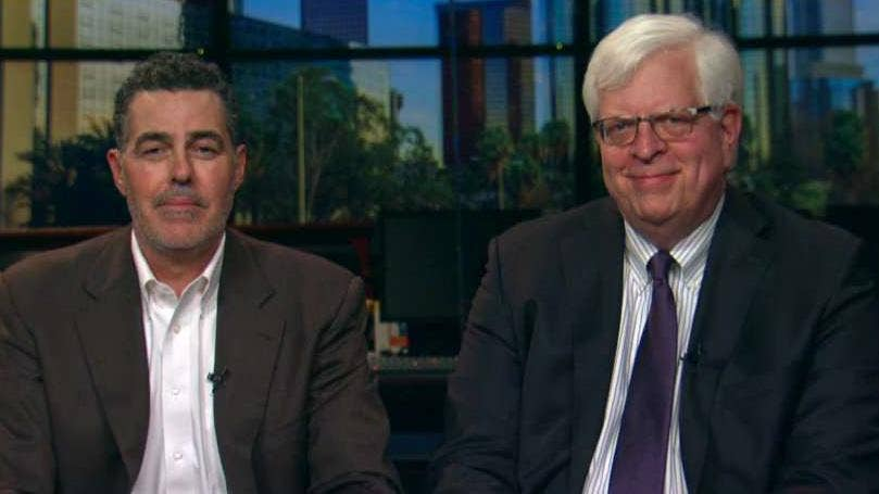 Adam Carolla and Dennis Prager give Tucker a look at their new documentary, 'No Safe Spaces,' which explores growing 'snowflake' and 'aggrievance' culture on college campuses nationwide at the expense of free speech #Tucker