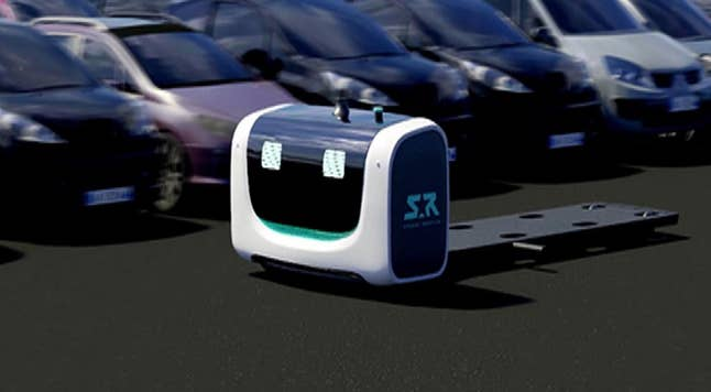 Paris-based Stanley Robotics hopes their new robot 'STAN' will remove the hassle of airport parking from the travel experience