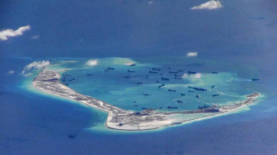 Tensions in the South China Sea are growing as China rapidly develops man-made islands in the critical waterway.  Fox News explains the conflict in the region and why the U.S. is paying close attention