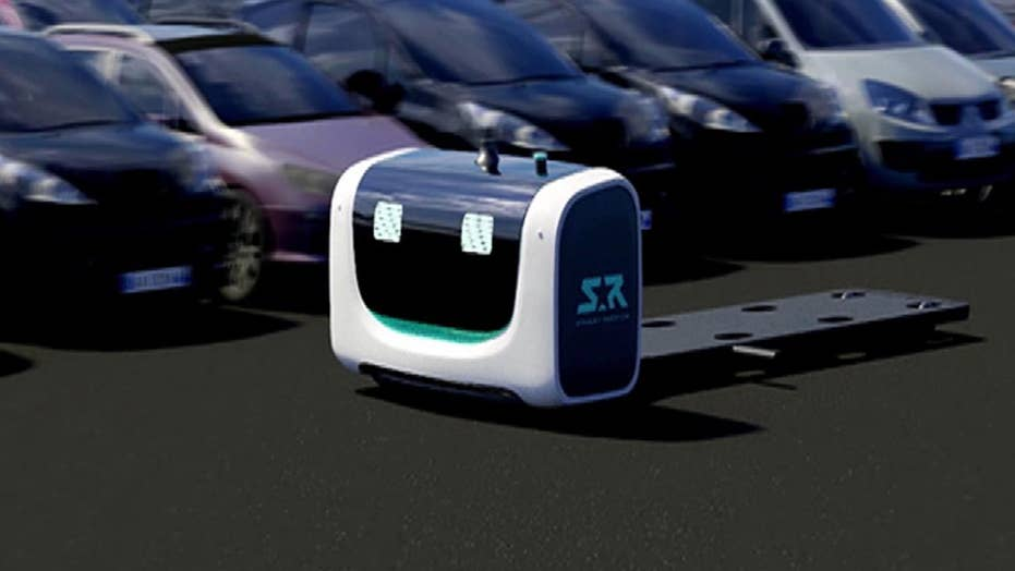 STAN: The robot looking to revolutionize airport parking