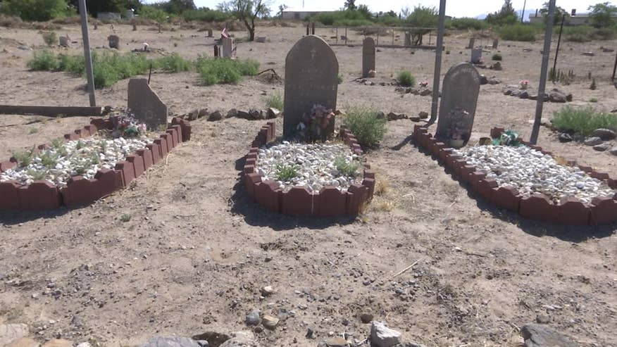 New Mexico veterans and volunteers have spent months refurbishing a cemetery with graves from the Civil War and Mexican American War