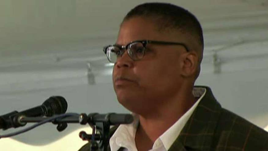 Professor Keeanga-Yamahtta Taylor slams President Trump during commencement speech