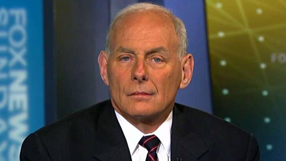 John Kelly on Manchester investigation, keeping America safe