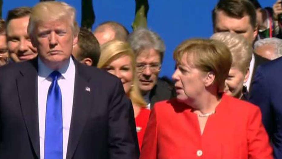 Eric Shawn reports: Merkel's message to President Trump