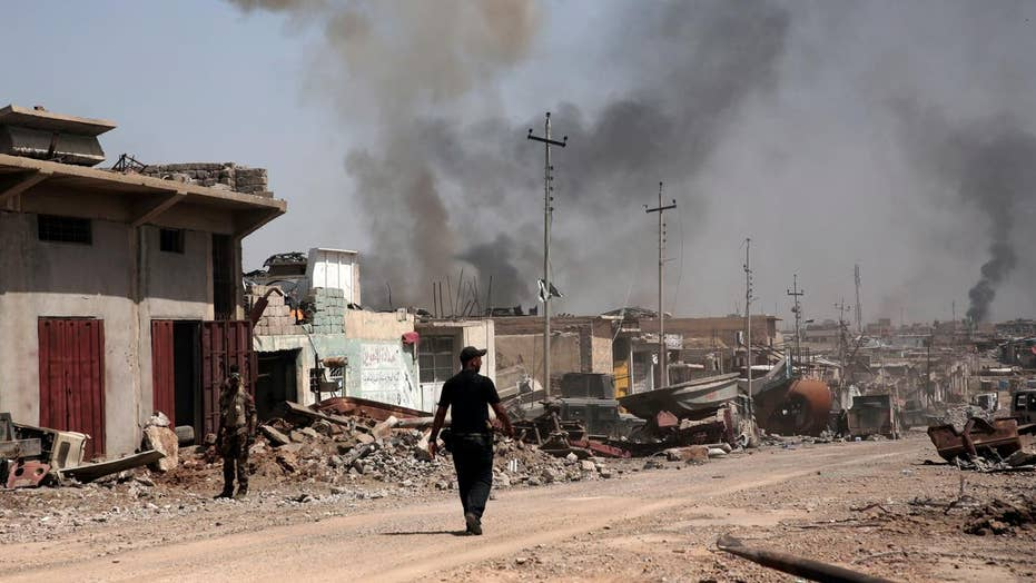 US-led Iraqi forces begin final push to liberate Mosul