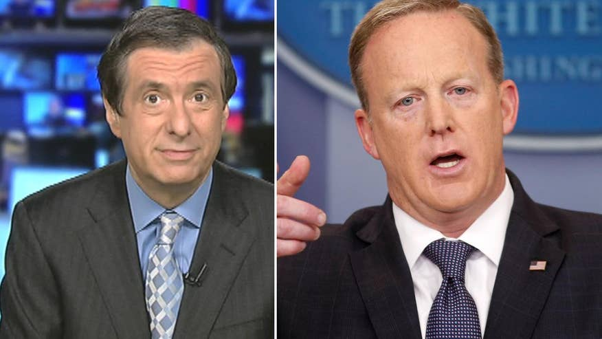 'MediaBuzz' Host Howard Kurtz weighs in on the media's frequent claims that Sean Spicer will be demoted or is on the cusp of being tossed from the Trump administration