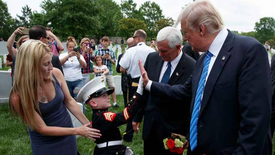 Gold Star family speaks out after meeting Trump at Arlington