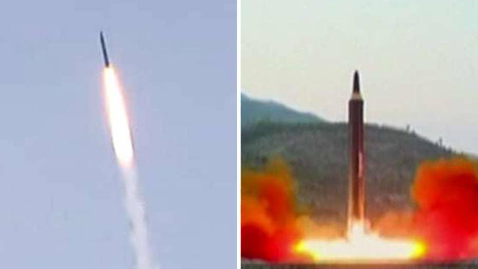 Pentagon performs test to shoot down ICBM