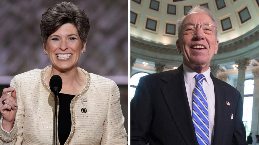 Sens. Grassley, Ernst weigh in on fully repealing, replacing ObamaCare; Mike Emanuel reports from Washington
