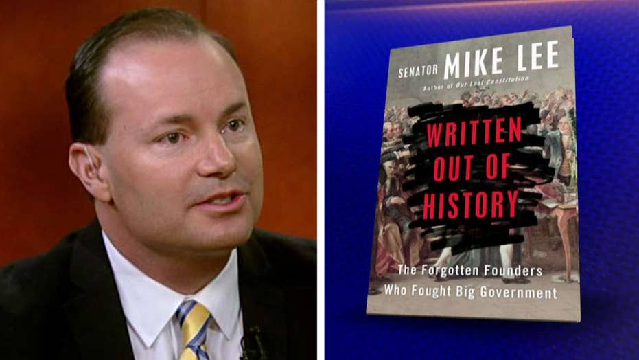 Sen. Mike Lee talks about 'Written Out of History'