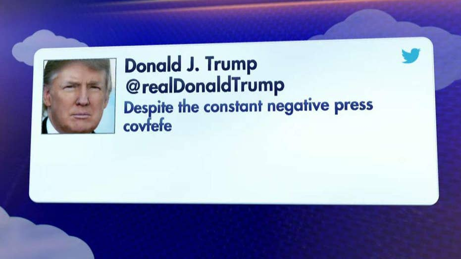 What is covfefe? President Trump's tweet stumps the internet