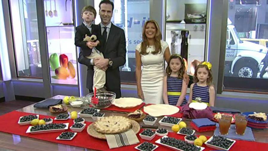 Fox Business Network host is joined by her family to prepare the recipe