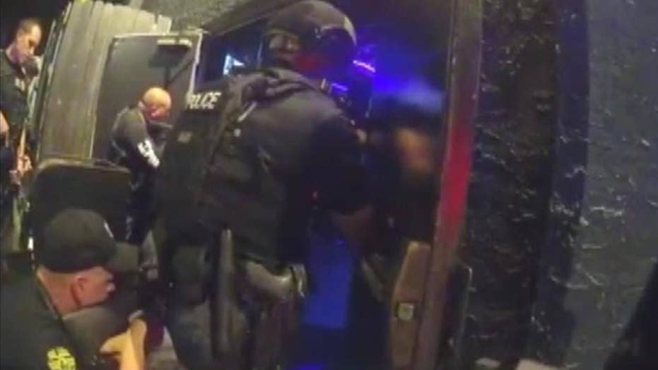 Police release footage of Orlando nightclub attack