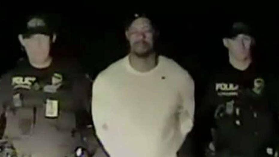 Dashcam shows Tiger Woods failing sobriety test