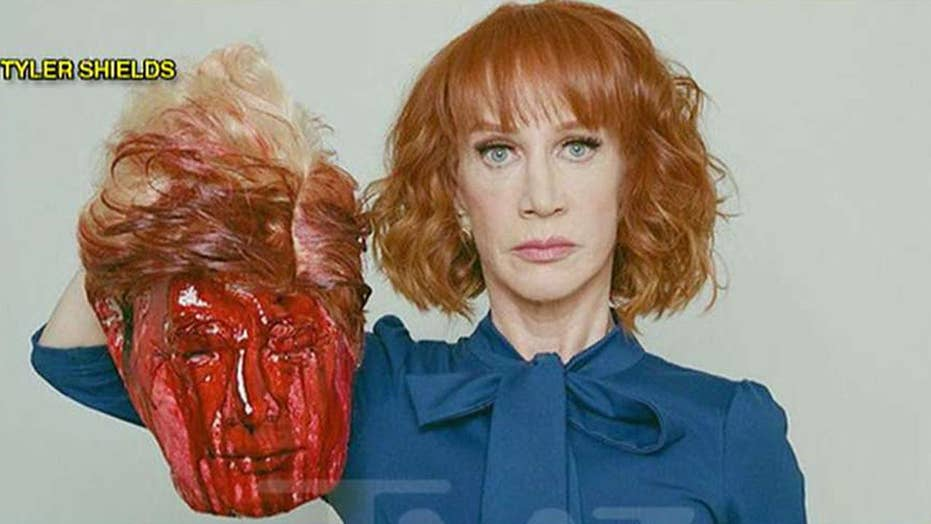 Did Griffin go too far with severed Trump head replica?