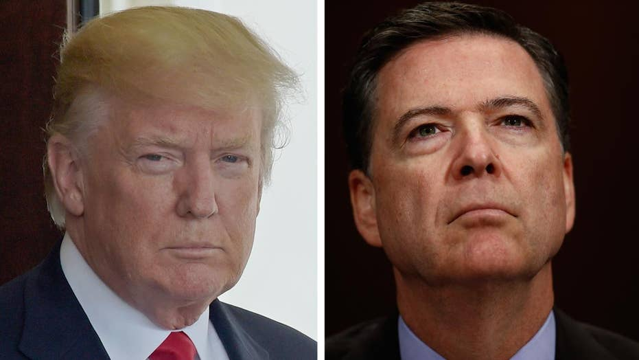 Should Trump use his executive privilege to block Comey?