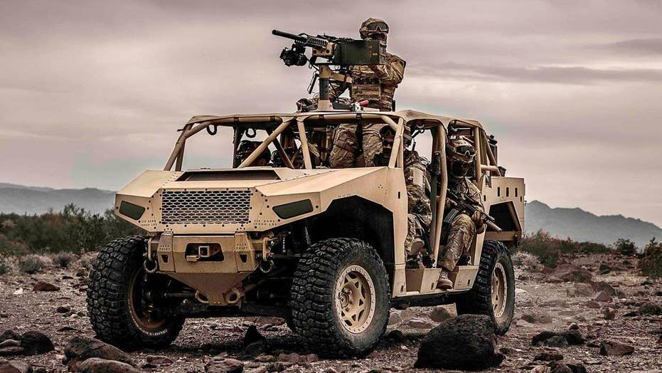 Special vehicles made for U.S. Special Ops