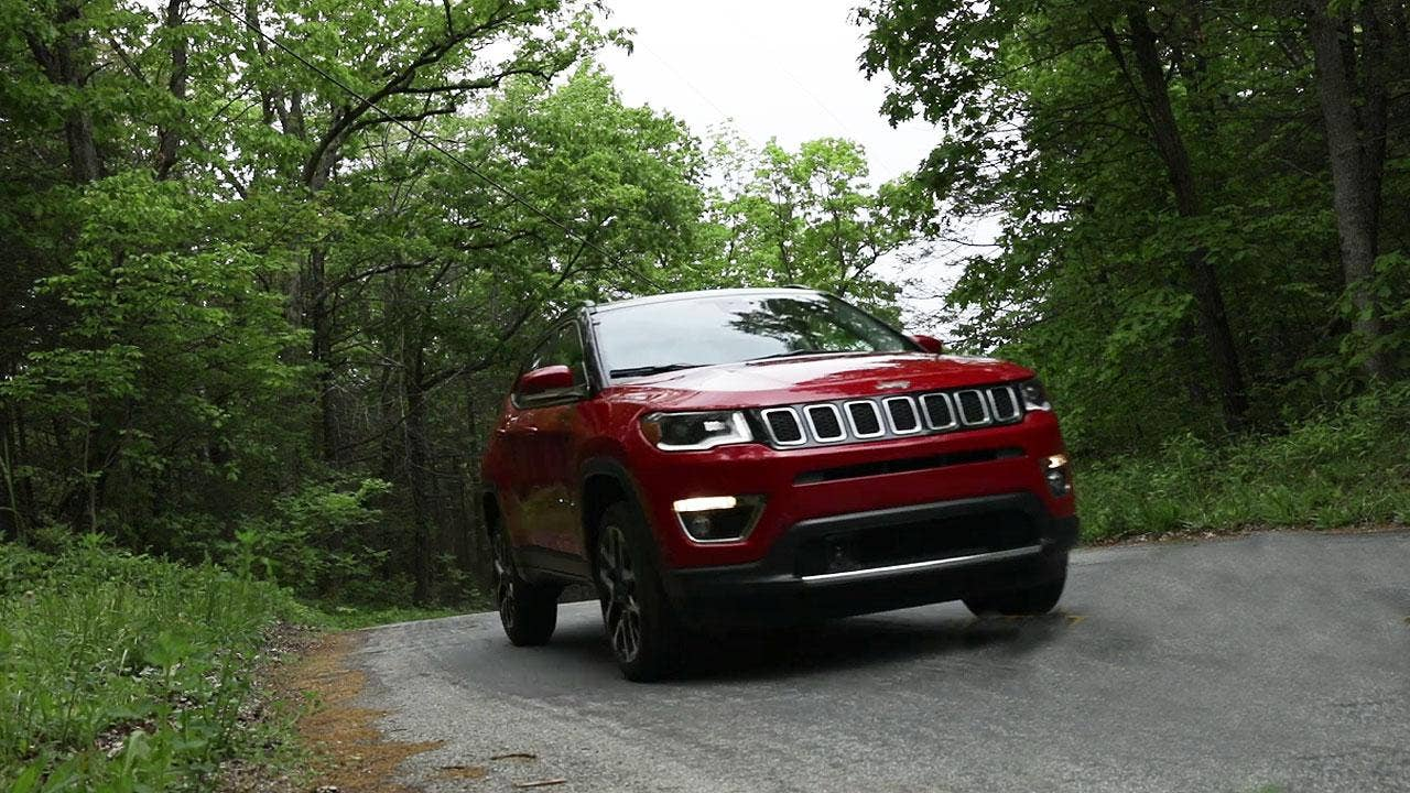 2017 Jeep Compass test drive
