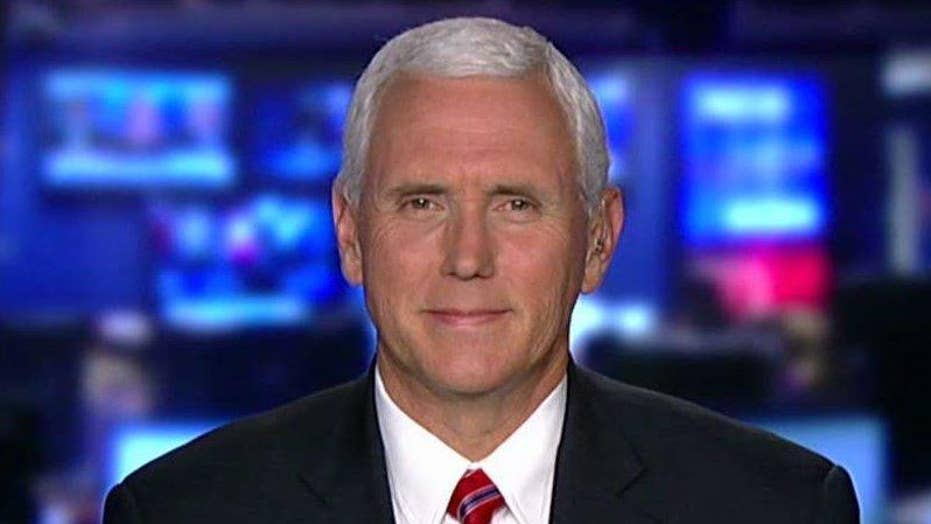 Pence: Paris Climate Accord put enormous burden on Americans