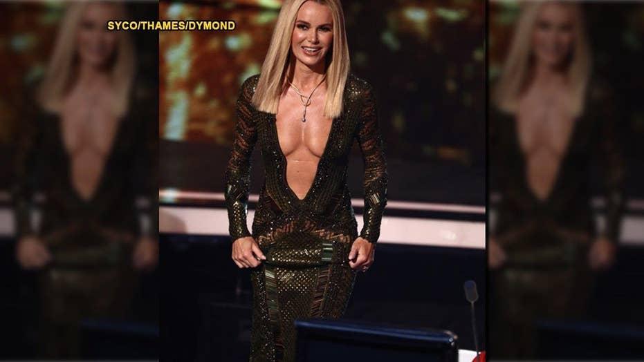 British TV host's dress sparks outrage
