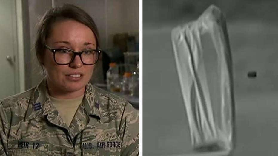 Air Force Academy cadet creates bulletproof substance