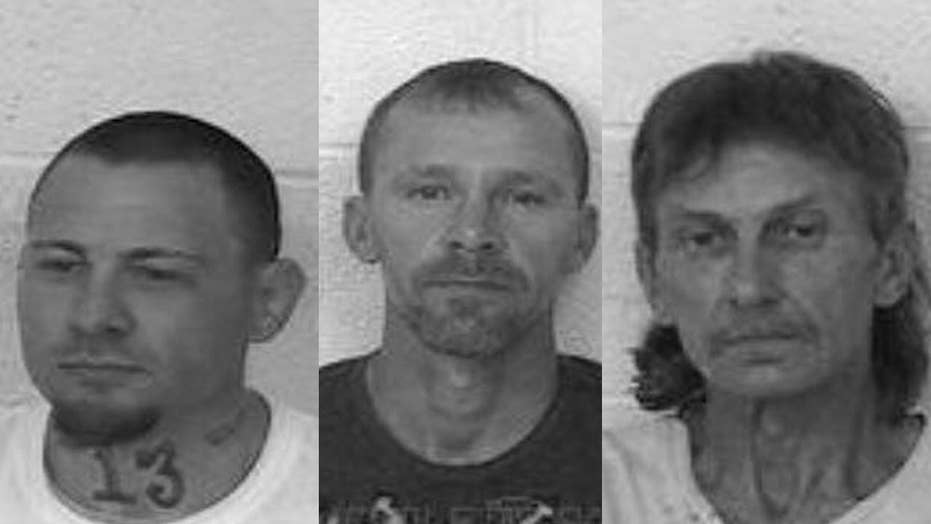 Authorities hunt escaped inmates; 1 captured