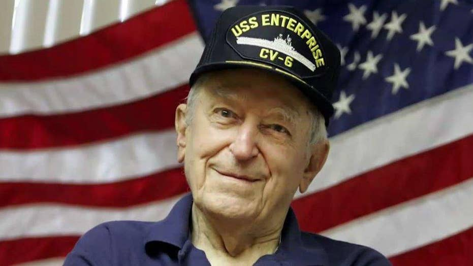 Heroic WWII Navy pilot memorialized in a new book