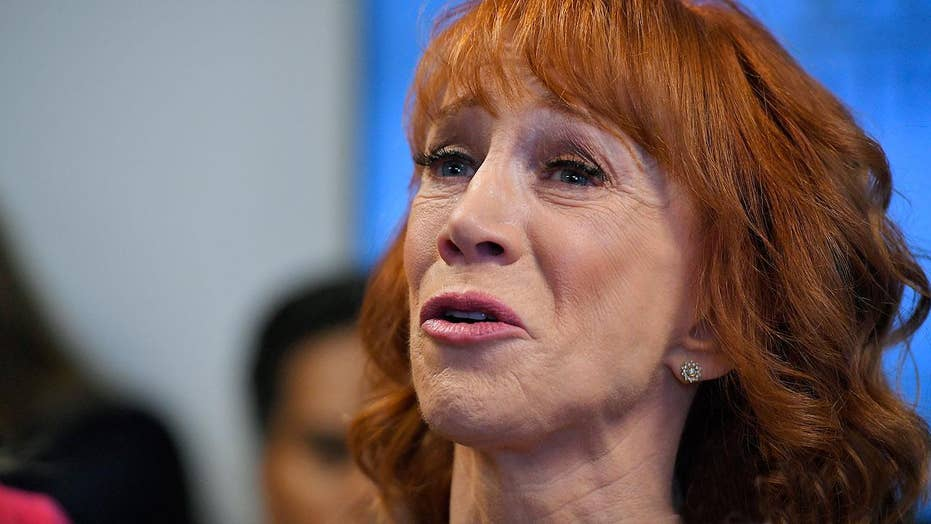 Kathy Griffin plays the victim