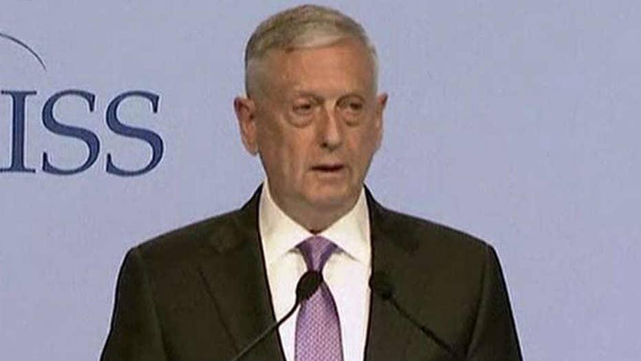 Mattis: Era of strategic patience is over