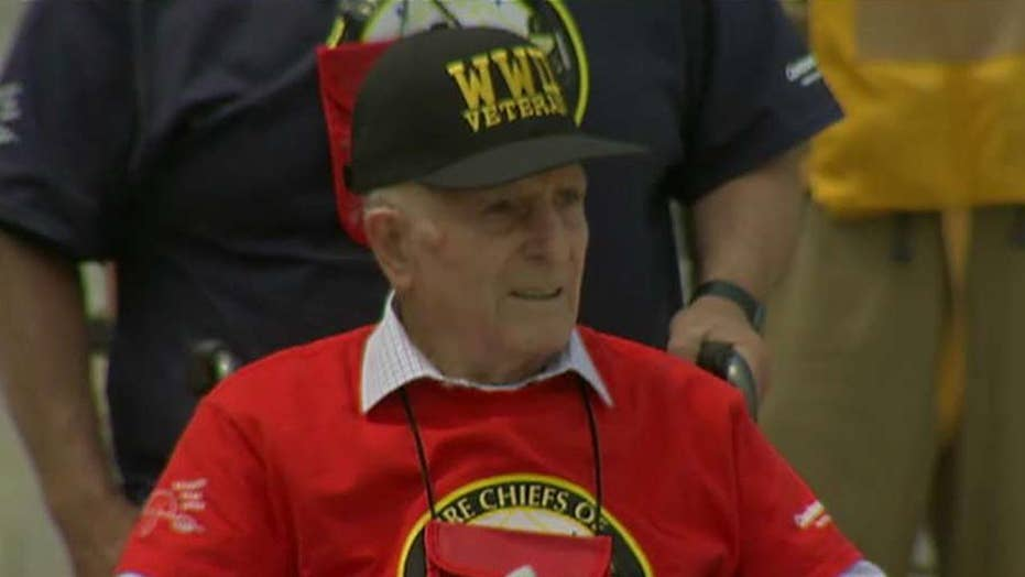 WWII veterans mark 75th anniversary of the Battle of Midway