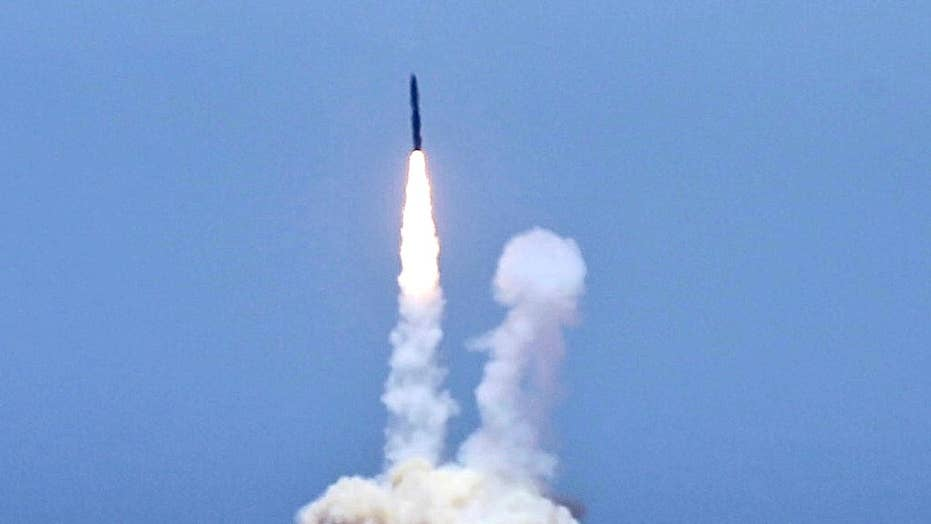 Pentagon hopes to build on success of missile defense test