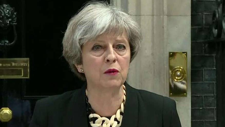 The British prime minister speaks after terror attack