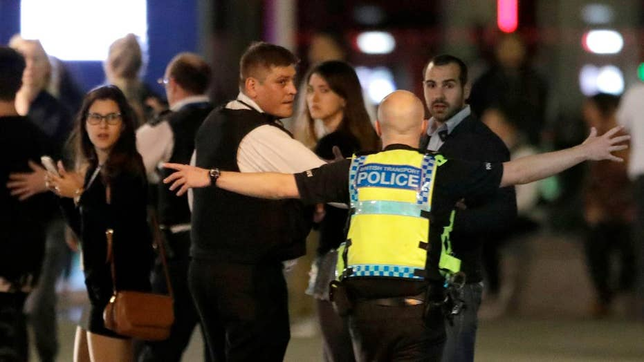 At least six dead, 30 injured after terror attack in London