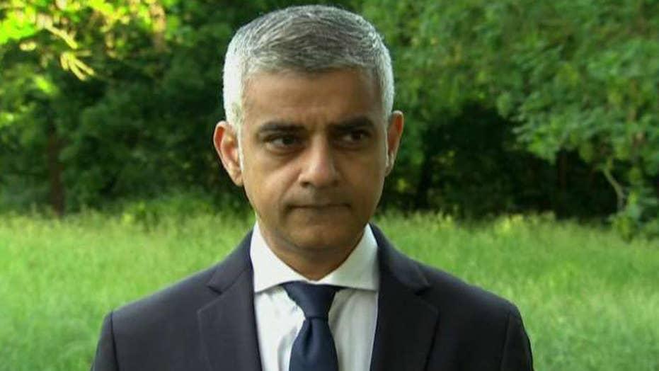 London's Mayor Sadiq Khan: More attacks 'highly likely'