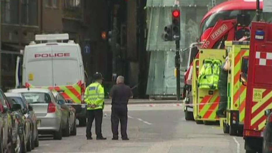 Counterterrorism raids take place throughout London