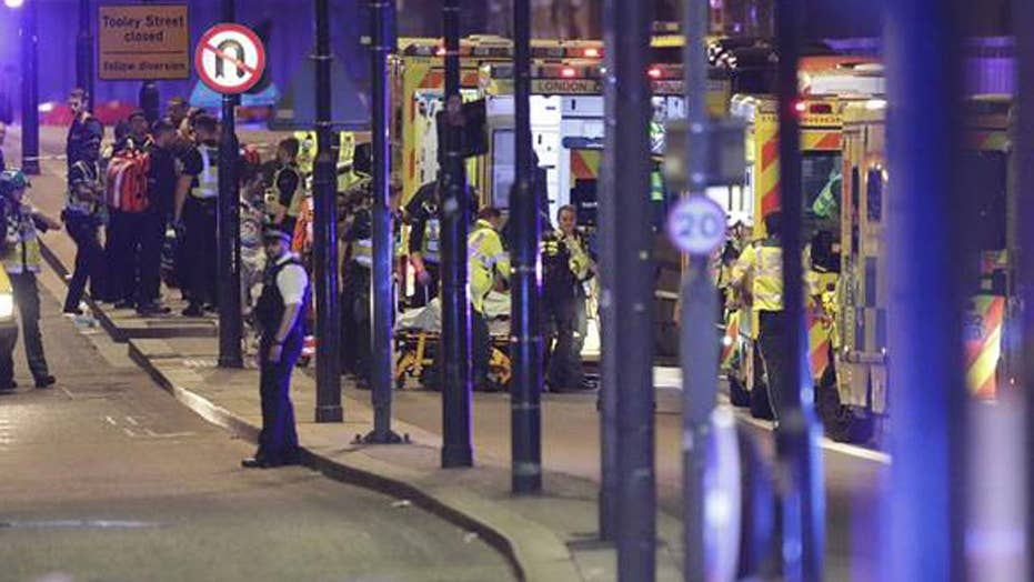 Global focus on London attack