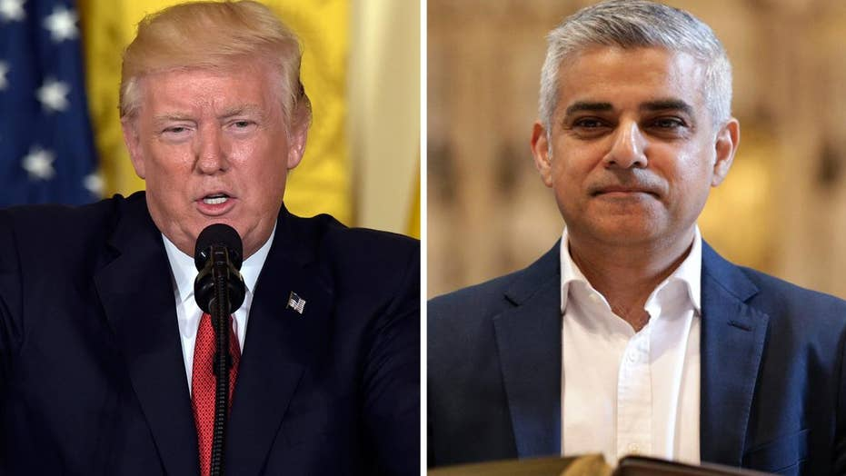 Trump criticizes London mayor's response to terror