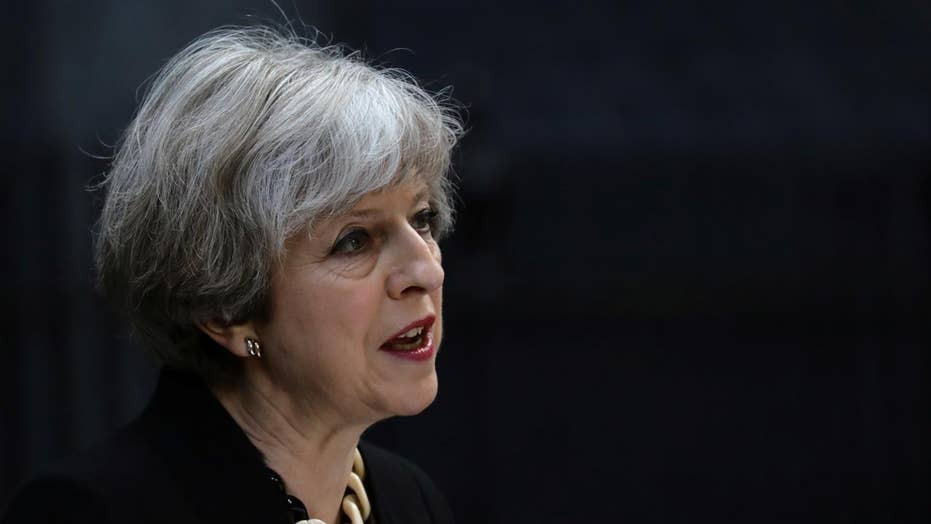 British PM May calls for allies to unite against extremism