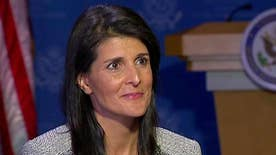 Ambassador Haley threatens to withdraw from U.N. Human Rights Council in Geneva