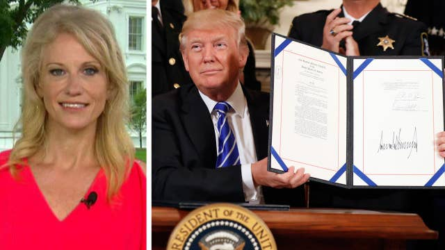 Conway: Media not covering positive things happening in WH