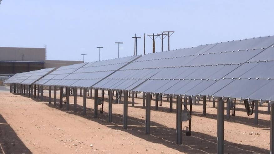 El Paso Electric brought their new community solar facility online, the biggest in Texas