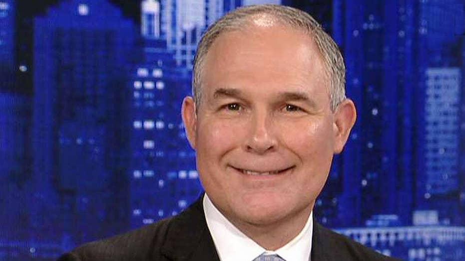 EPA Administrator Pruitt: President Trump put America first