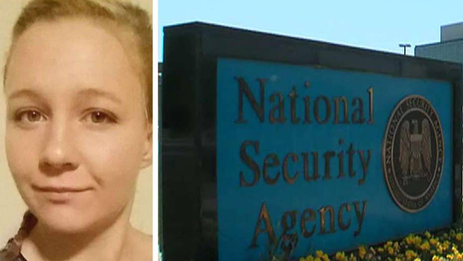 NSA contractor charged with leaking top secret Russia report
