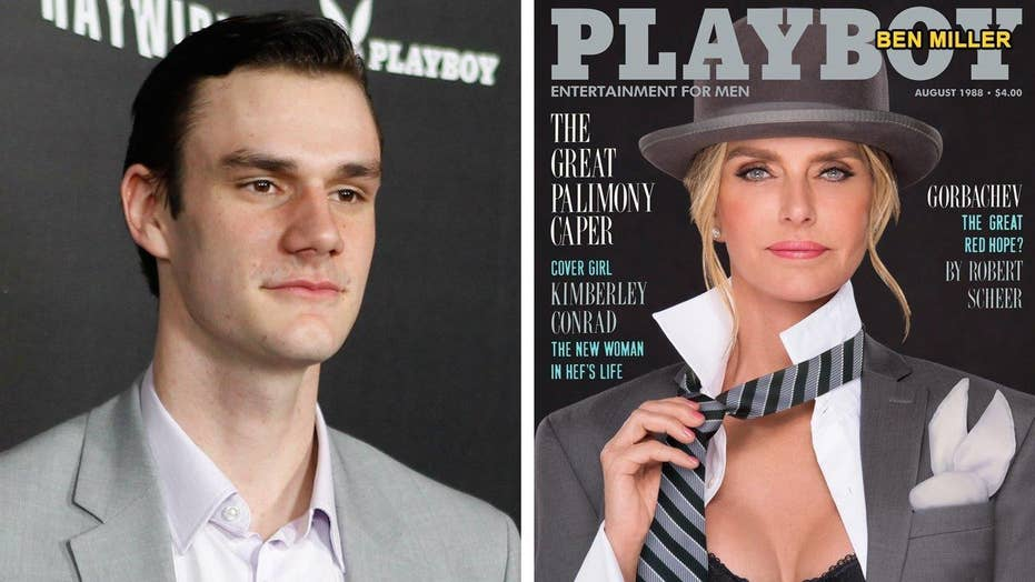 Cooper Hefner wants mom to recreate Playboy cover